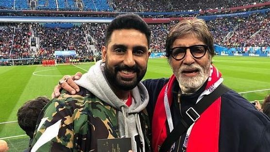 Abhishek Recounts Amitabh's Advice When He Wanted To Quit B'Wood