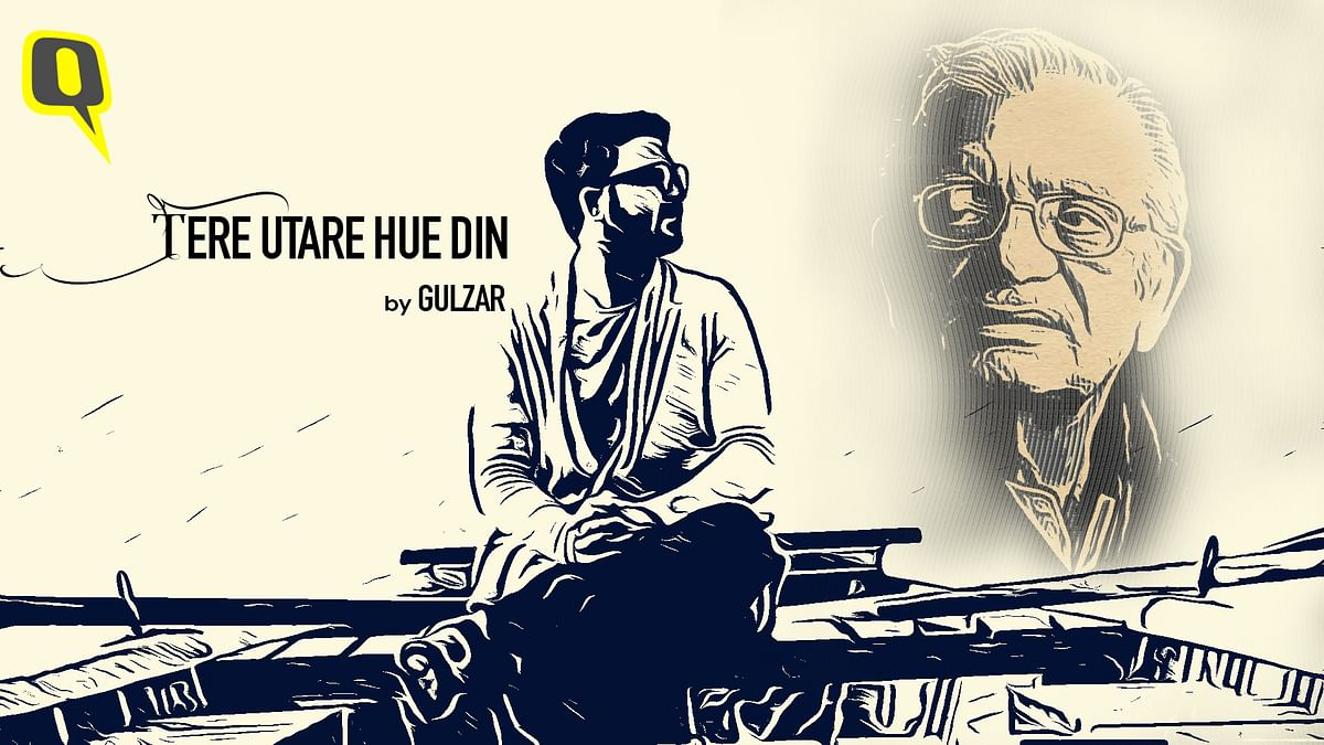 We Recite Gulzar's 'Tere Utare Hue Din,' a Poem on Life & Longing