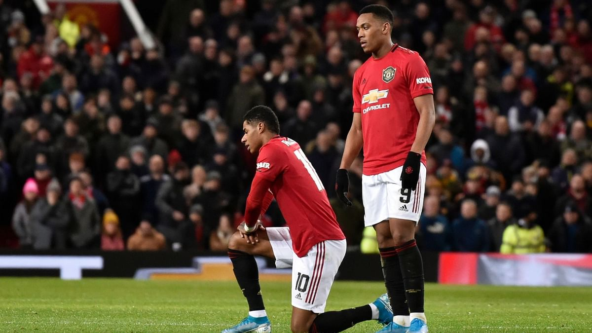 Rashford sustained the injury after being introduced as a second-half substitute in Wednesday's 1-0 FA Cup third-round replay win over Wolves.