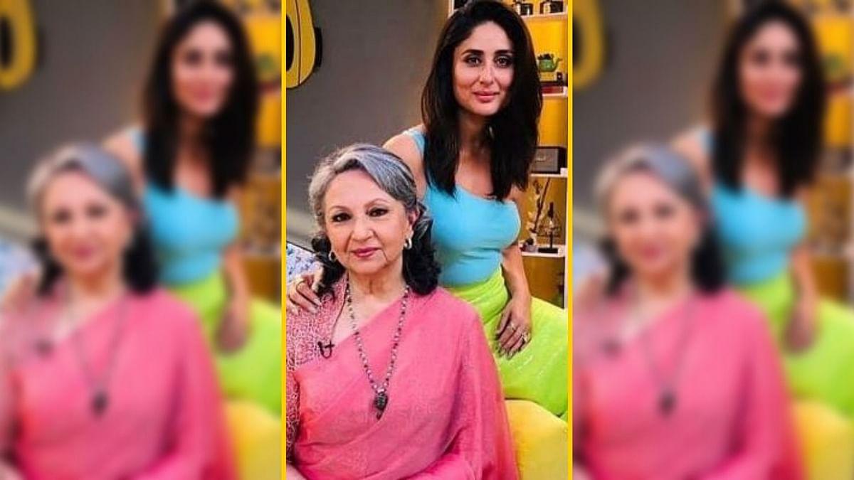 "<div class=""paragraphs""><p>Kareena Kapoor with Sharmila Tagore.</p></div>"