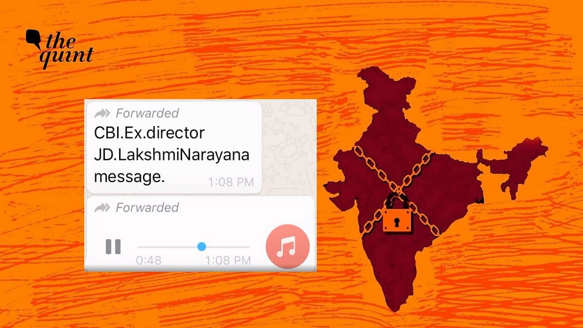 Fake: Ex-CBI Officer Calls Out Viral Audio Clip on COVID Lockdown