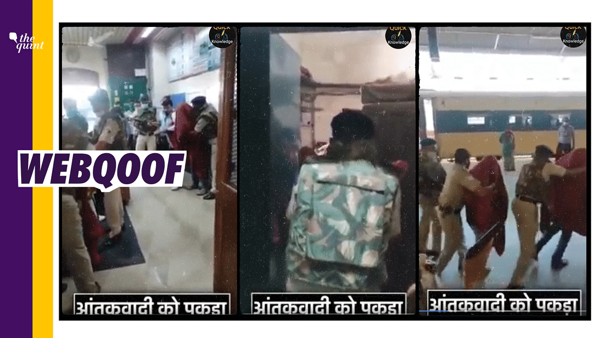 Mock Drill Clip From Gujarat Rly Stn Viral as Foiled Terror Attack