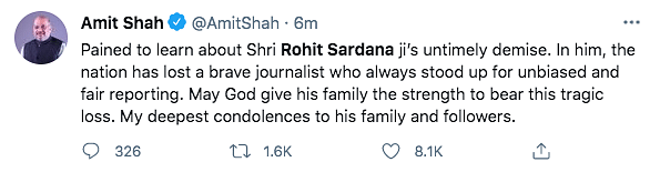 Aaj Tak Anchor Rohit Sardana Passes Away After Contracting COVID