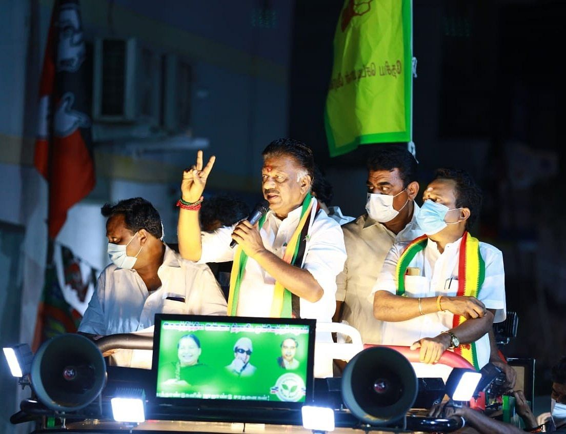 O Panneerselvam is the Deputy Chief Minister and joint coordinator of AIADMK.