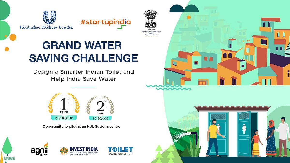 Participate in Hindustan Unilever's Grand Water Saving Challenge