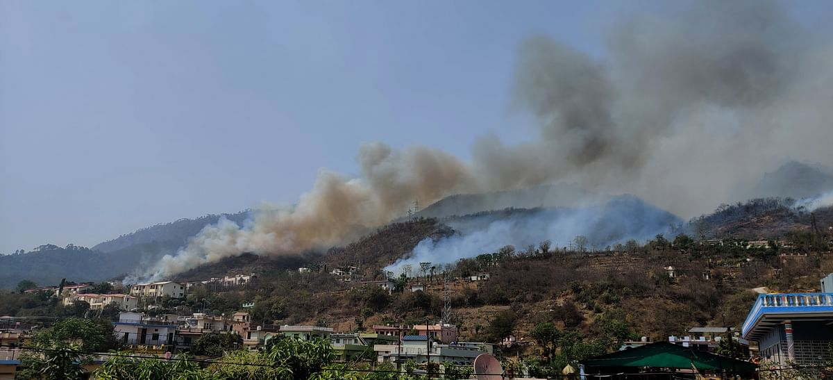 Uttarakhand Forest Fires: Green Cover Reduced to Ash Near My Home