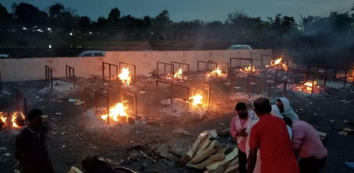 MP COVID Horror: Overburdened Crematoriums, Health System Crumbles