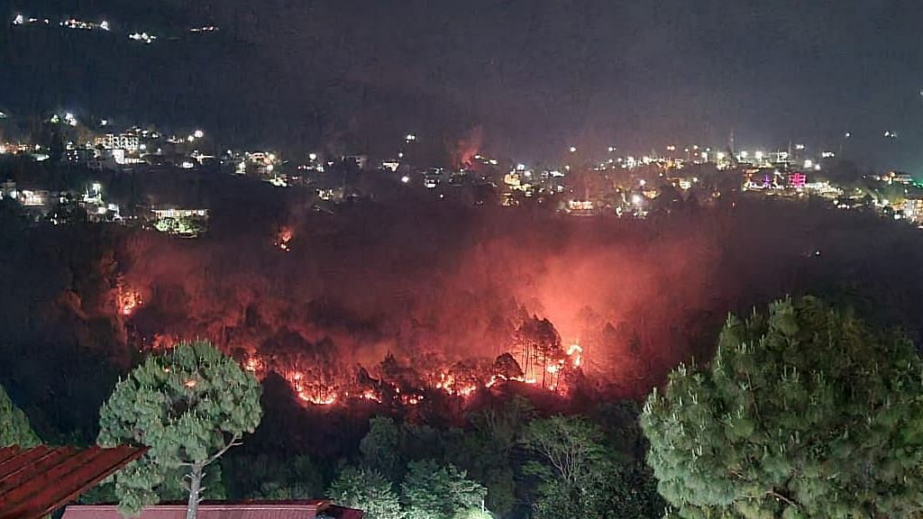 CM Tirath Singh Rawat said that there had been 40 incidents of fire across 11 districts.