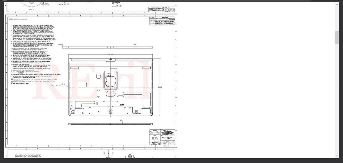 "<div class=""paragraphs""><p>Leak 3: Design of an iMac leaked</p></div>"