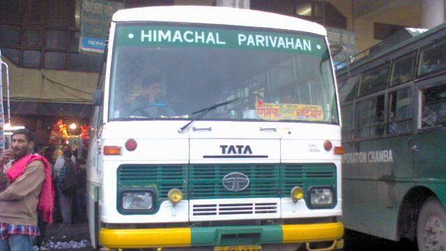 Seema Thakur First HRTC Woman Driver to Take Inter-State Route