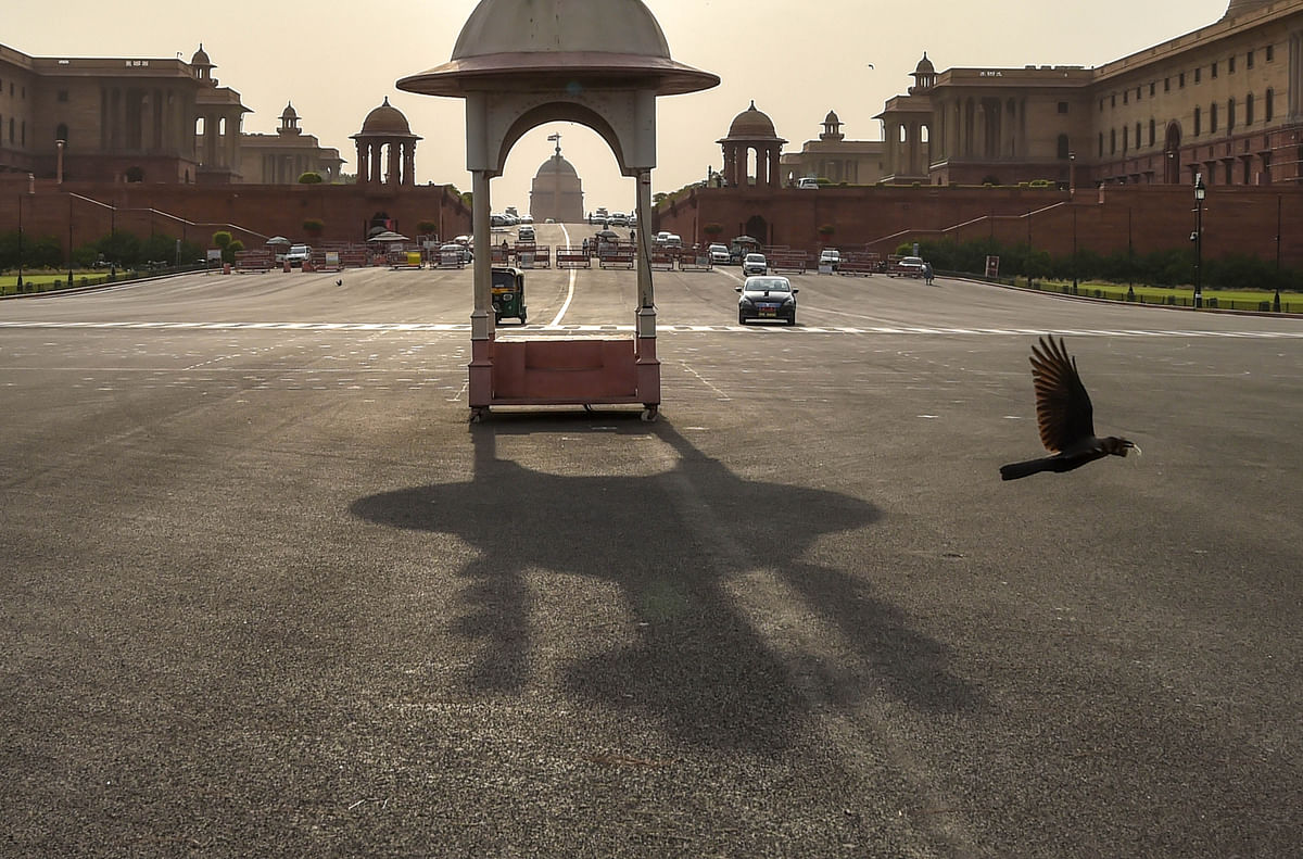 Image of Vijay Chowk used foe representation.