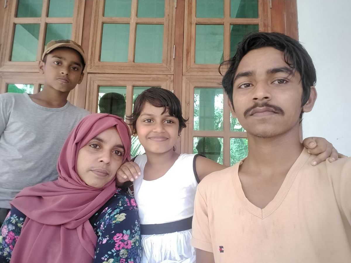 Kappan and his wife Raihanath have three children, two sons and a daughter.