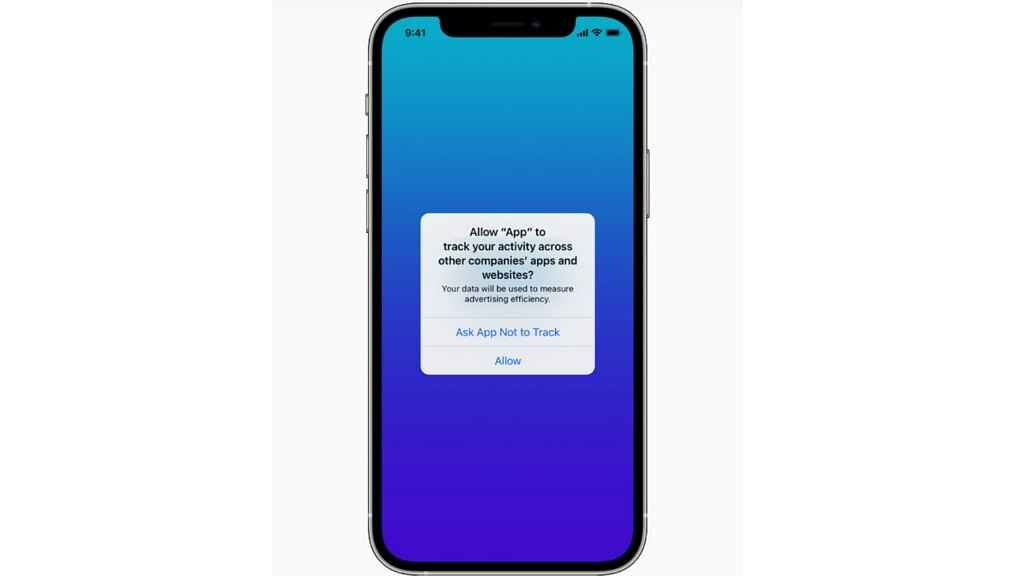 """<div class=""""paragraphs""""><p>With App Tracking Transparency, apps are now required to get a user's permission to track or access their device's advertising identifier.</p></div>"""