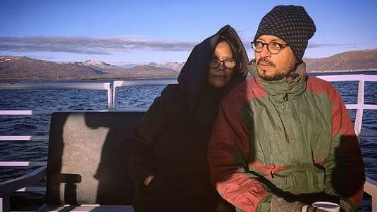 """<div class=""""paragraphs""""><p>Late Irrfan with wife Sutapa Sikdar</p></div>"""