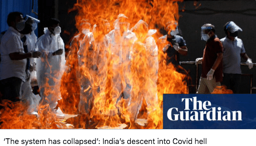 'PM Suffers From Overconfidence': Global Media on India's 2nd Wave