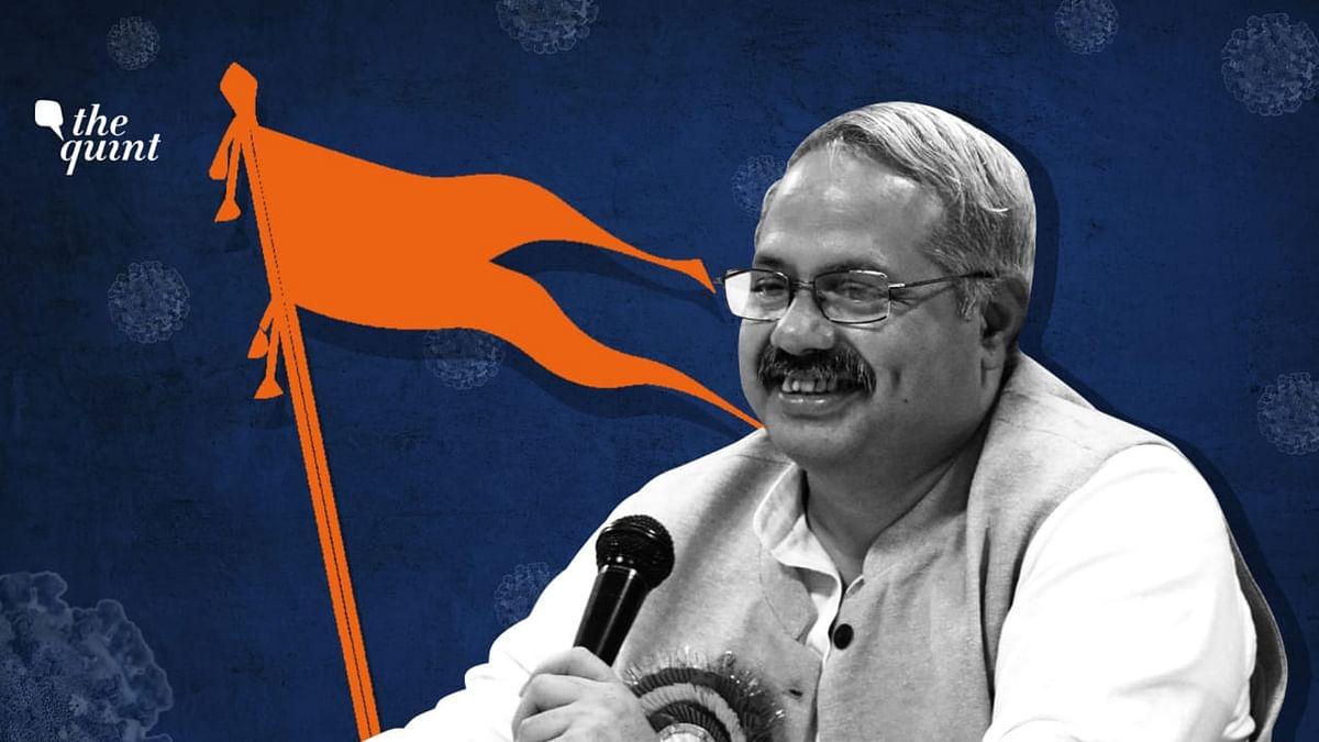 """Media should avoid reporting from a COVID ward or crematoriums,"" RSS prachar pramuk Sunil Ambekar said."