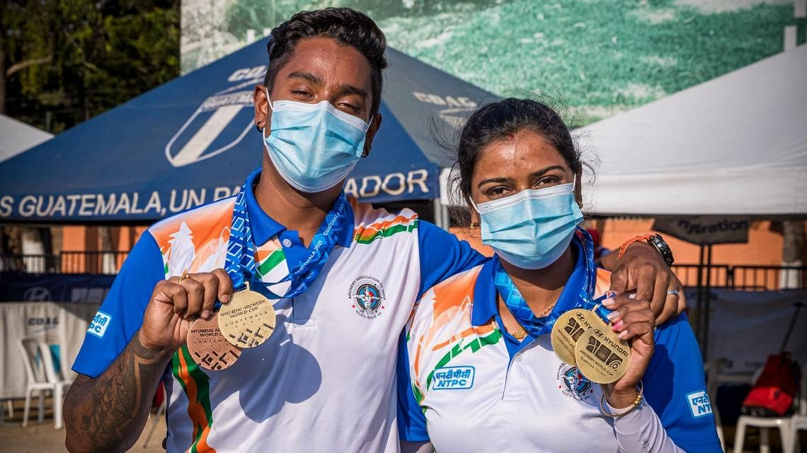 Archer Duo Deepika Kumari-Atanu Das' Best-Ever WC Finish in Mexico