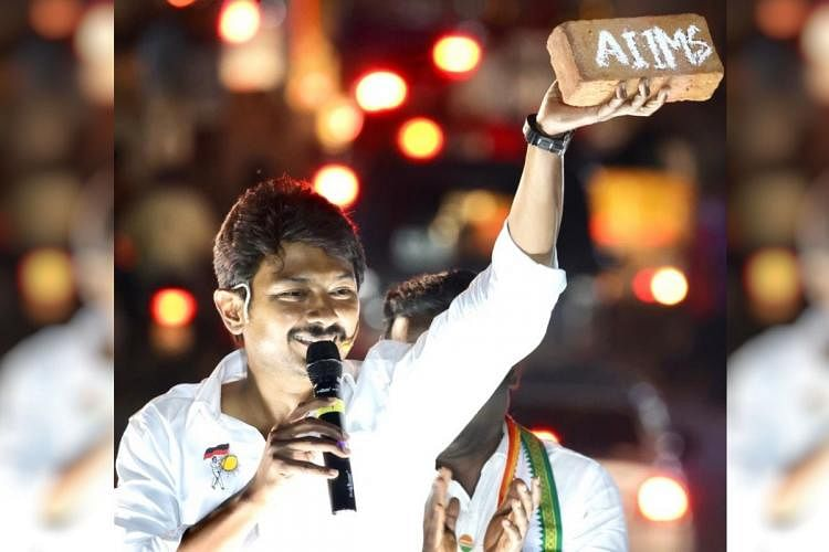 Udhayanidhi Stalin, an actor and DMK youth wing secretary.