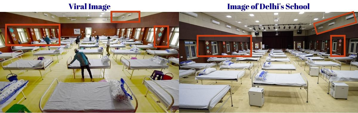 School-Turned-COVID Ward in Delhi Passed off as 'Beds in Lucknow'
