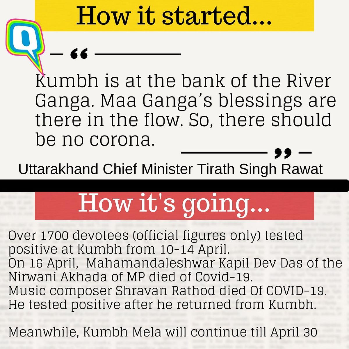The kumbh is still on because... <i>kya pata</i> <i>kal ho na ho!</i>