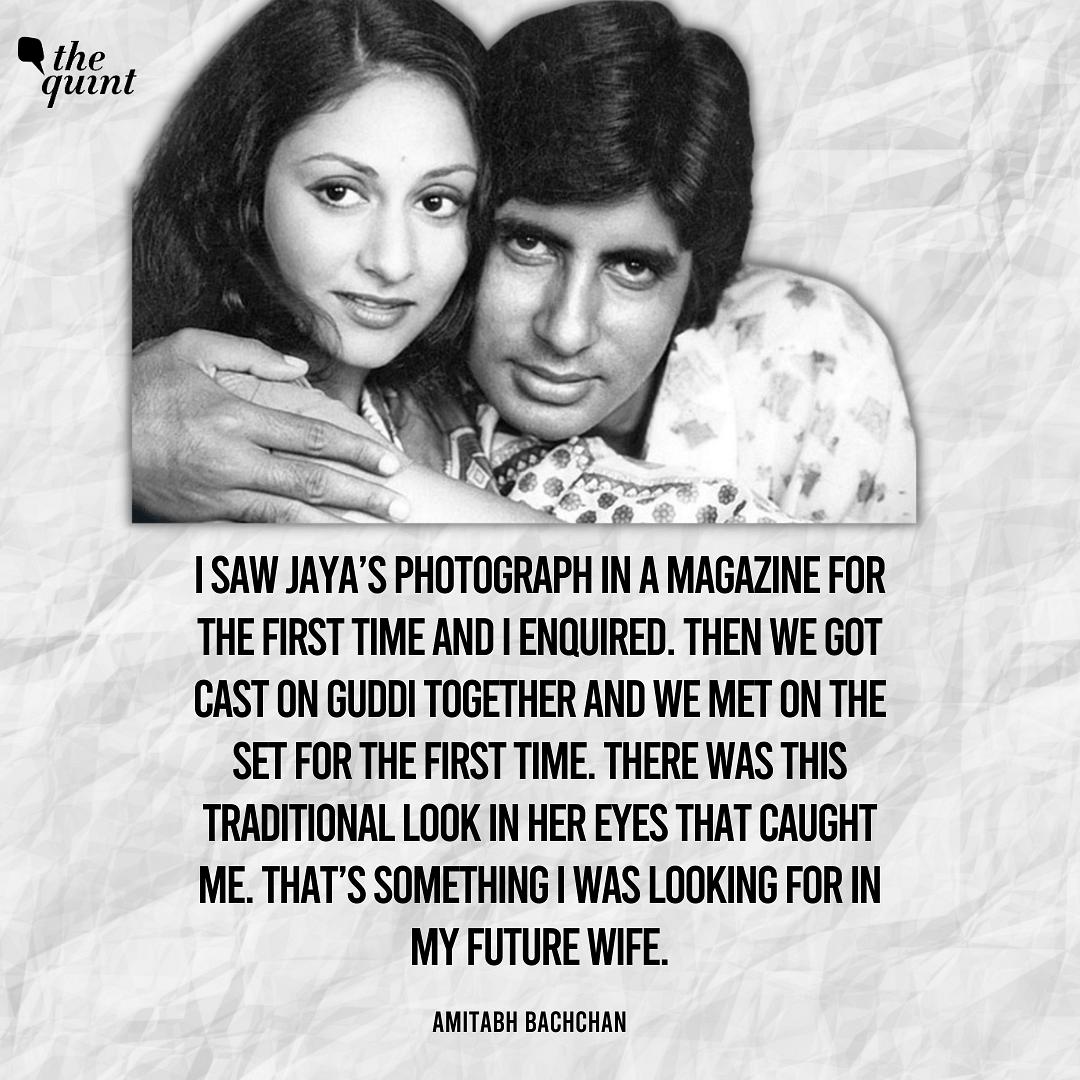 Jaya & Amitabh Bachchan On Their Shaadi Ka Silsila
