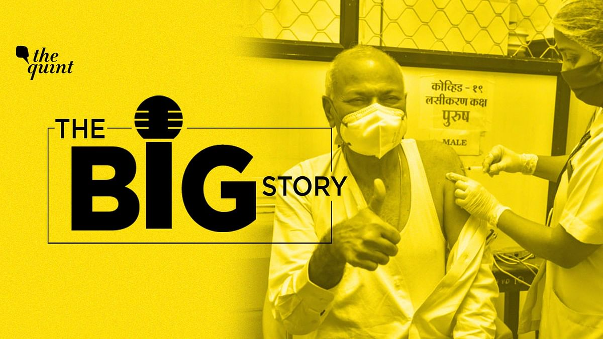 The Big Story podcast on vaccine effectiveness in India and breakthrough infections. Image used for representation only.