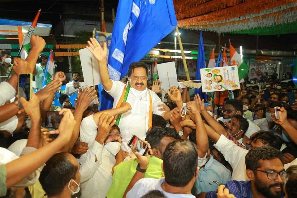 Congress leader Ramesh Chennithala is contesting from Haripad