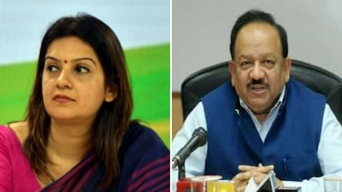Priyanka Chaturvedi said that she would expect a scientific response from Dr Vardhan, because he is the Health Minister of India and not a political Spokesperson of a party.