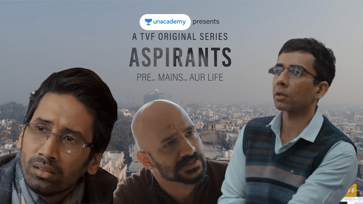 """<div class=""""paragraphs""""><p>The first two episodes of TVF's mini-series '<em>Aspirants'</em> has premiered on YouTube.</p></div>"""