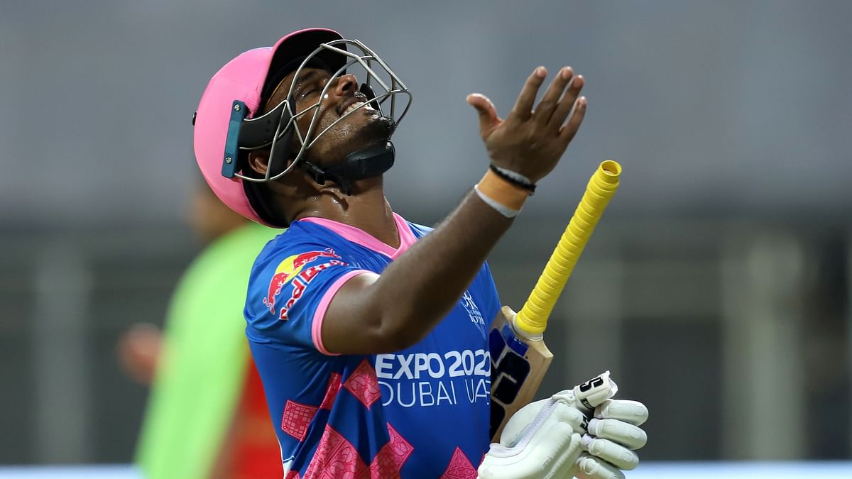 Sanju Samson scored a century in RR's first IPL match of the season.