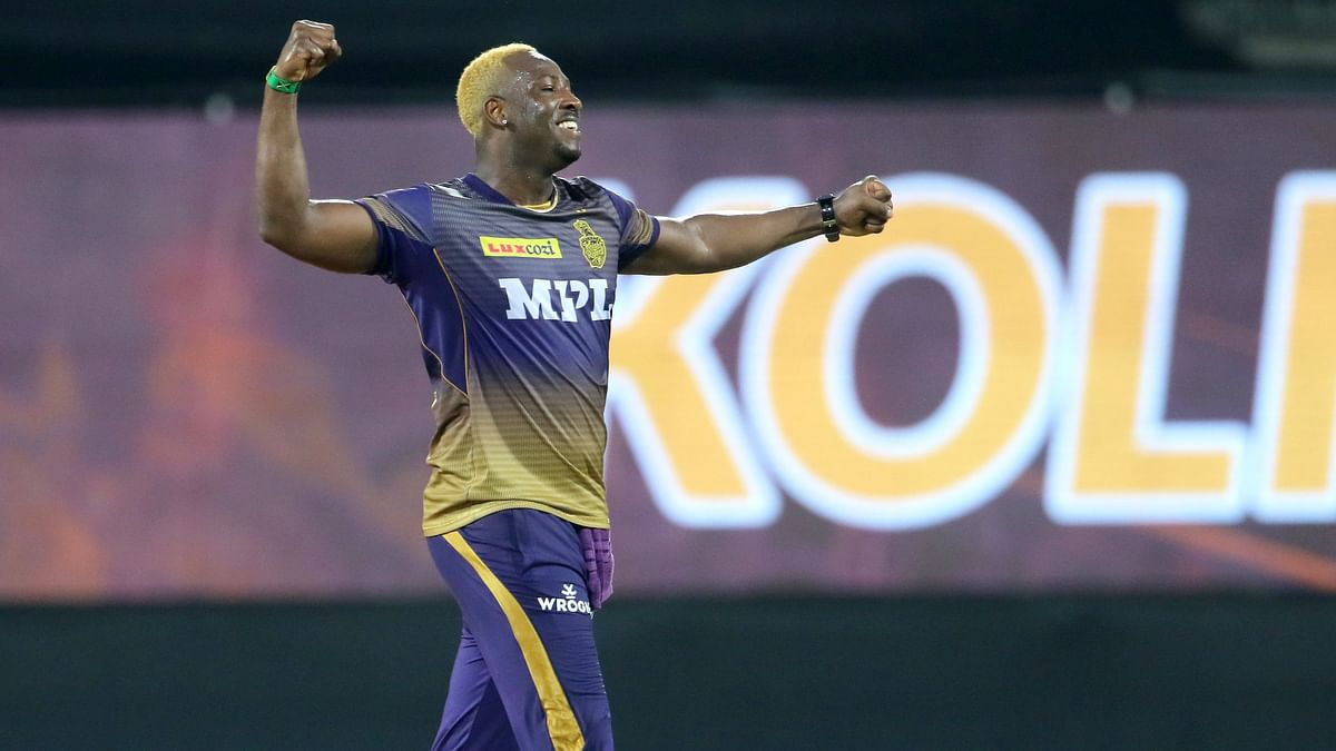 Andre Russell picked 5/15 against Mumbai Indians
