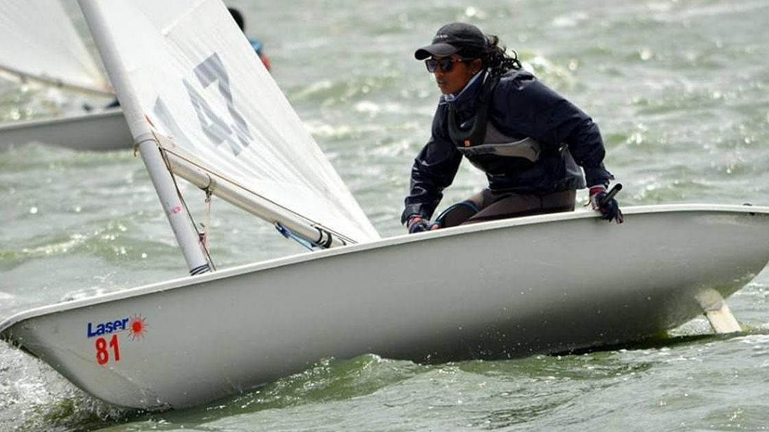 Nethra Kumanan became the first Indian woman sailor to qualify for the Olympic games on Wednesday.