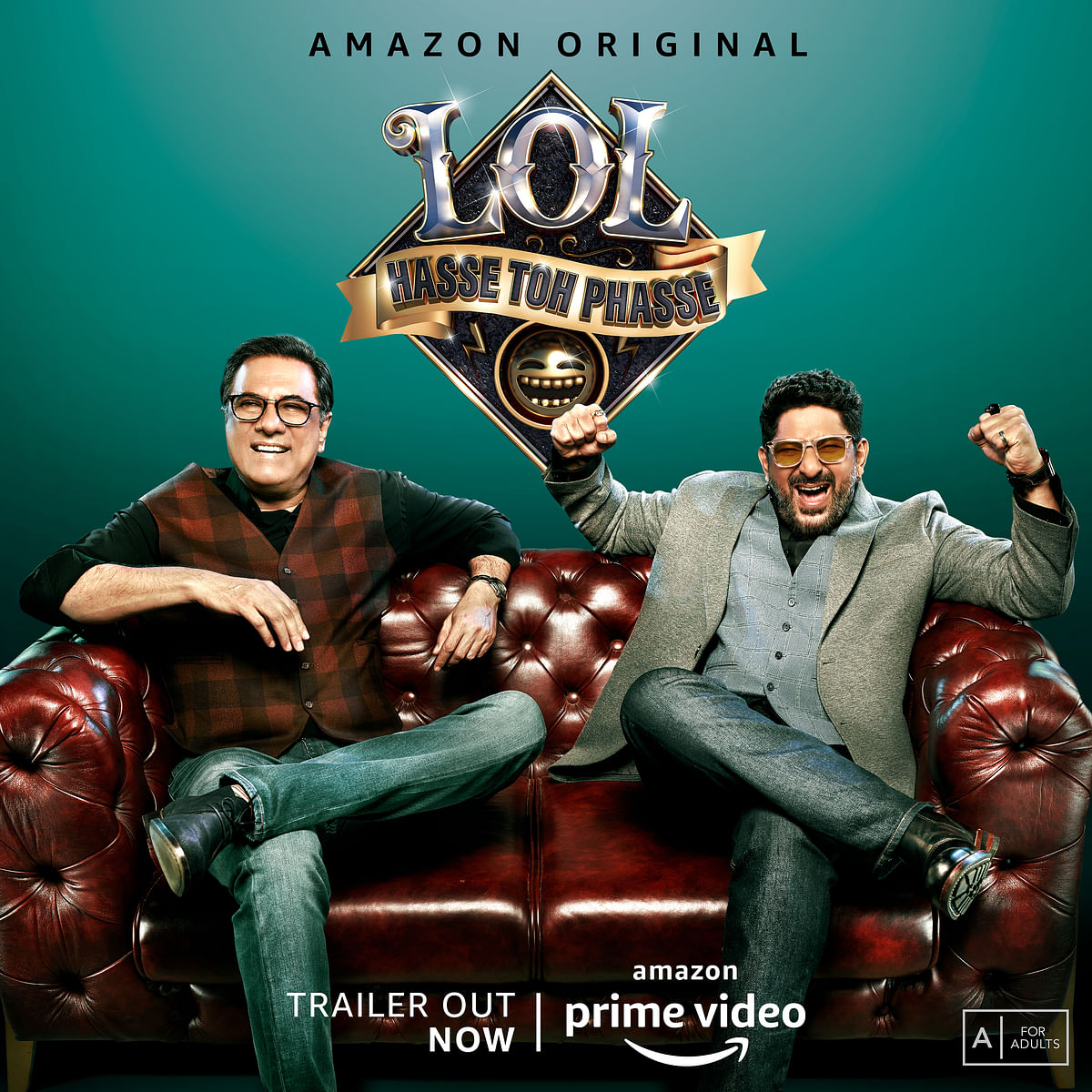 """<div class=""""paragraphs""""><p>Irani and Warsi are the hosts and referees for LOL – Hasse Toh Phasse.</p><p>(Source - Amazon Prime Video)</p></div>"""