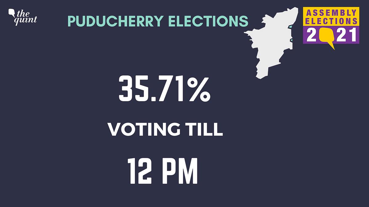 Puducherry Elections: 35.71% Turnout Till 12 pm, Lt Guv Casts Vote