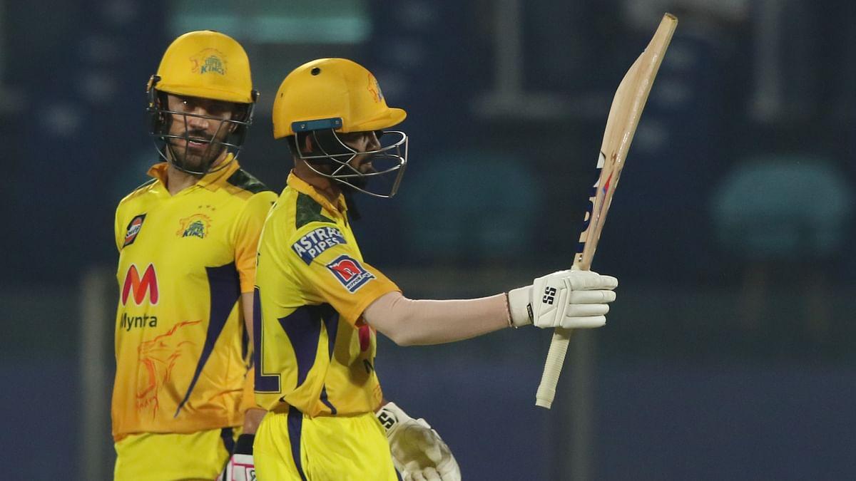 Faf du Plessis and Ruturaj Gaikwad scored fifties against SRH