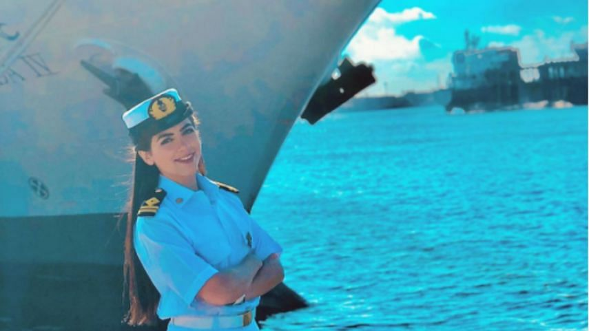 Egypt's 1st Female Ship Captain Falsely Blamed for Blocking Suez