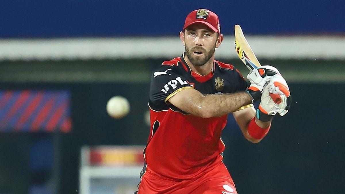 Glenn Maxwell hit a 28-ball 39 in the IPL 2021 season-opener against Mumbai Indians.