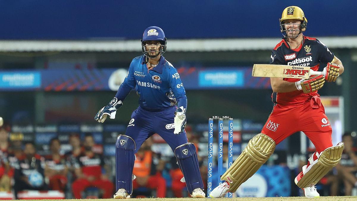 AB de Villiers during his knock against MI.