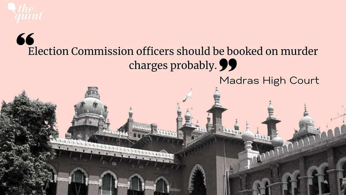 EC Should Be Booked for Murder: Madras HC Chides Poll Body