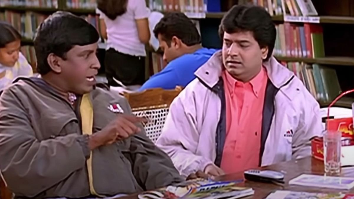 Vivek and Vadivelu's comic chemistry and timing in the movie, <i>Manadhai Thirudivittai </i>(2001) was an absolute laugh riot.