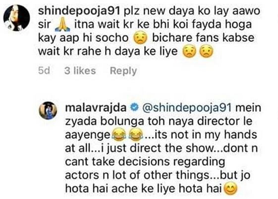 Taarak Mehta Director Reacts to Fan's Request for New Daya