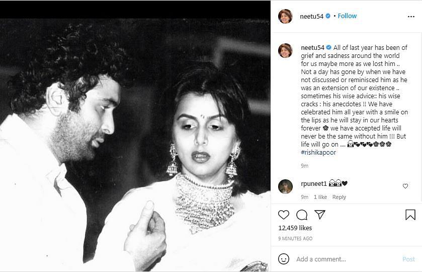 Until We Meet Again: Neetu, Riddhima Remember Rishi Kapoor
