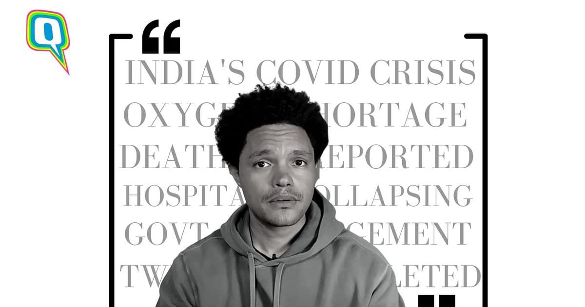 Trevor Noah on India's COVID Crisis and PM Modi's Response - The Quint