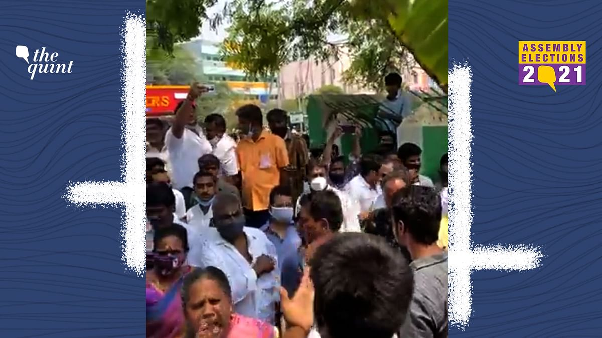 A mob reportedly attacked Dravida Munnetra Kazhagam candidate, Karthikeya Sivasenapathy at Thondamuthur on Tuesday, 6 April.