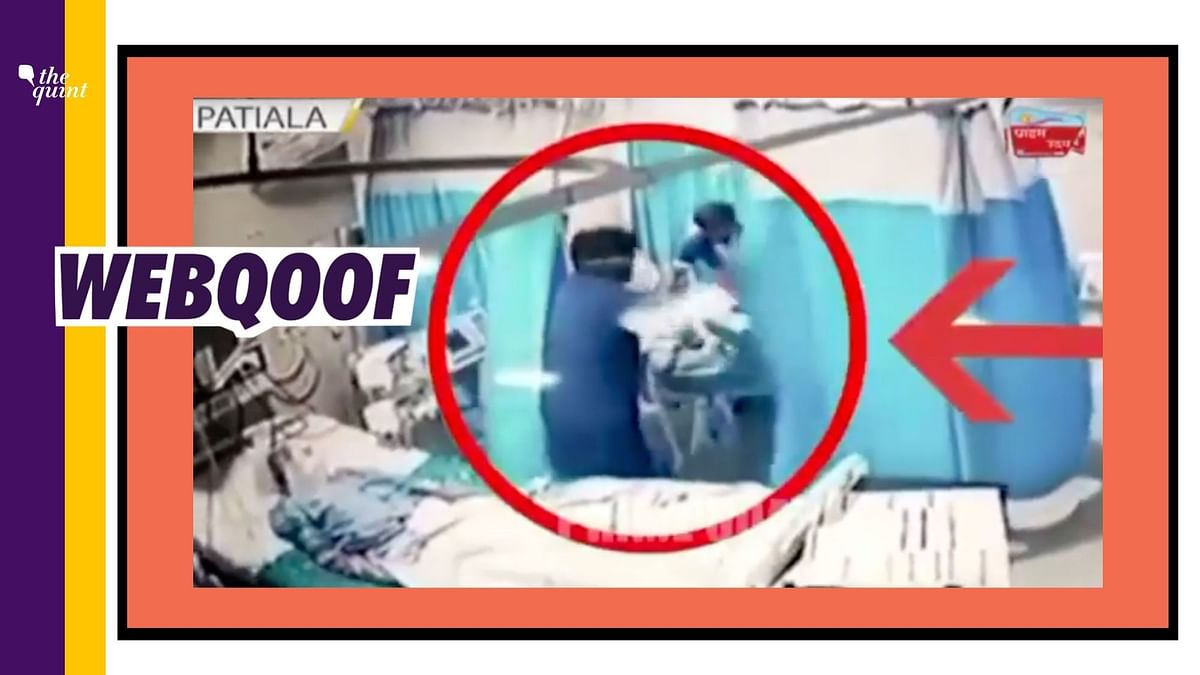 Old  Clip From Punjab Shared as COVID Patients 'Killed' in B'luru