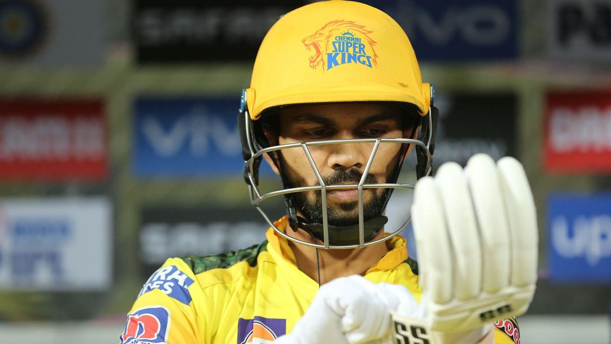 Ruturaj Gaikwad scored 64 off 42 balls on Wednesday against KKR.