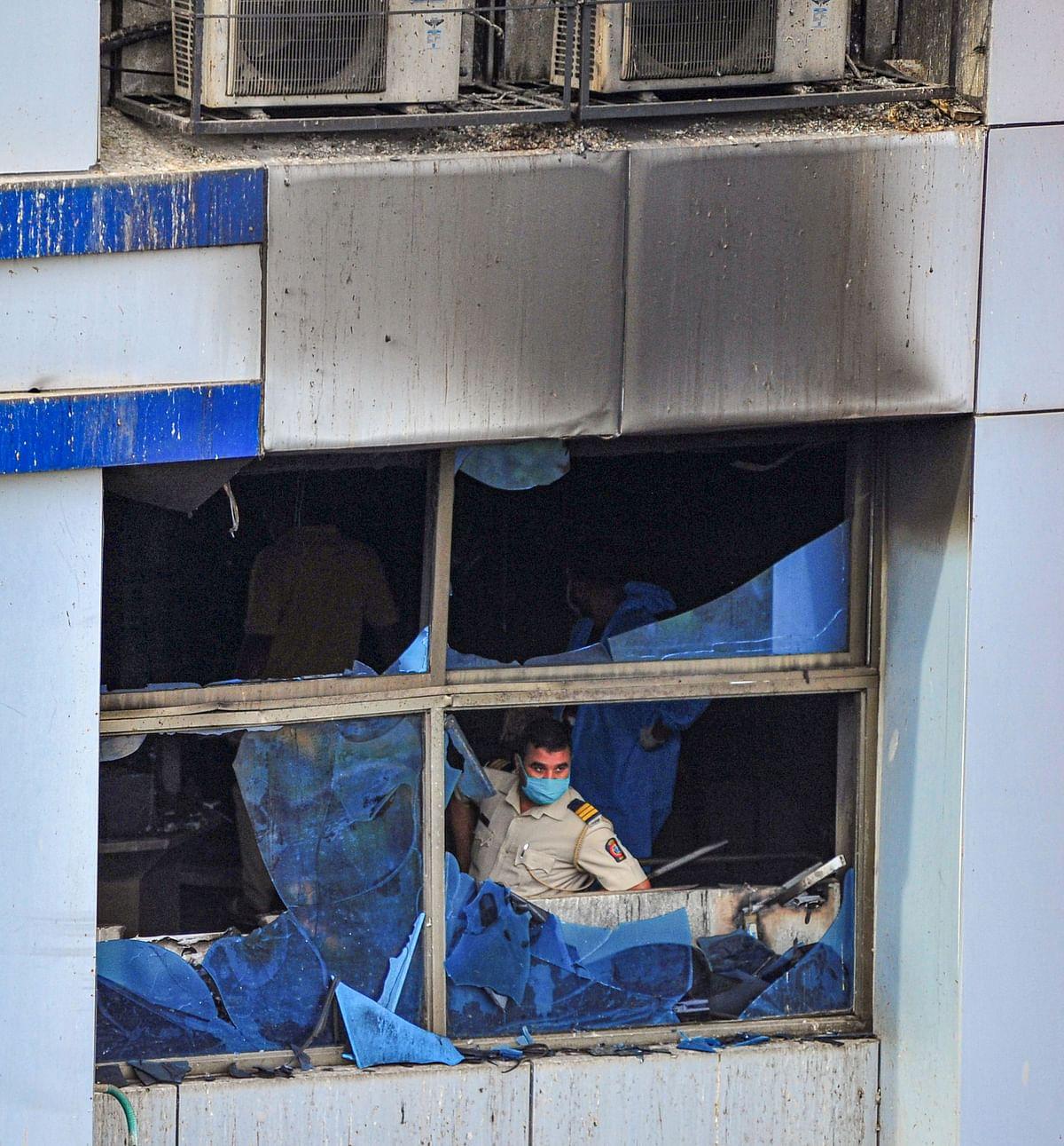 Fire at Vijay Vallabha hospital, Mumbai