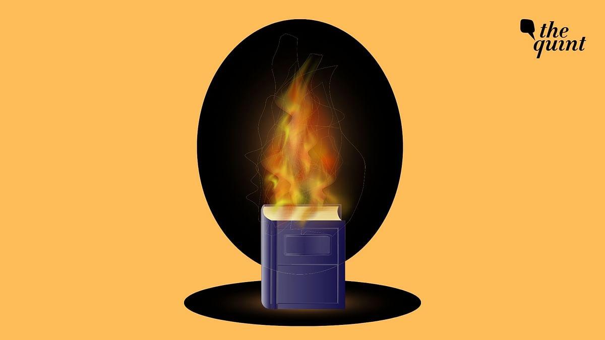 Muslim Man's Library Set Ablaze by Miscreants in Karnataka