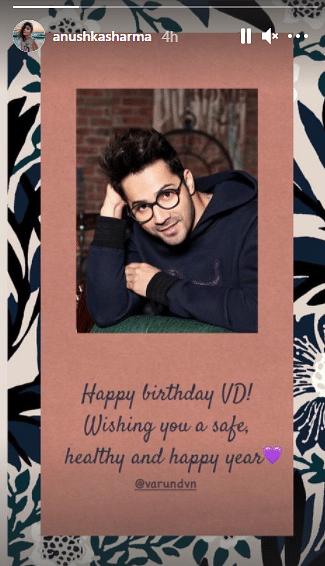 Anushka, Arjun, and Others Wish Varun Dhawan on His Birthday
