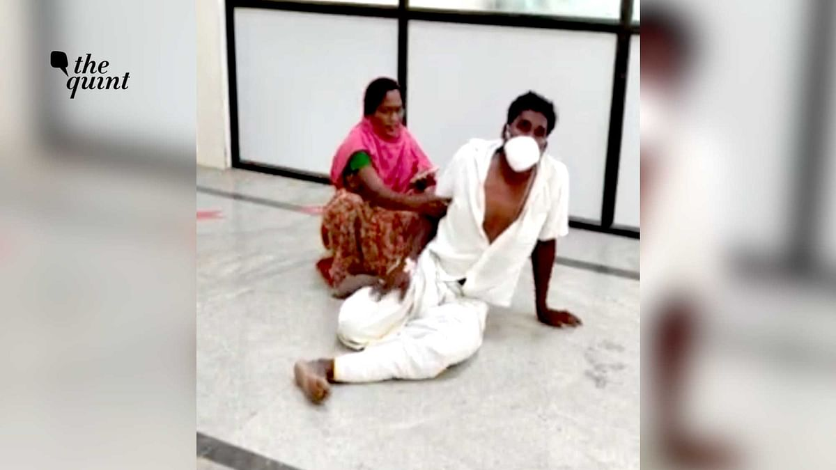COVID Apathy: K'taka Patient Begs on Hospital Floor for Bed